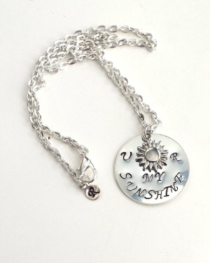 Hand Stamped Necklace