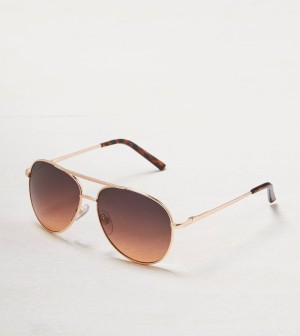 Ombre Tinted Aviators