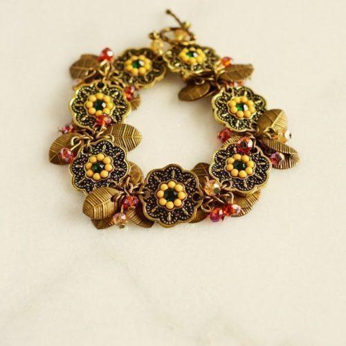 chunky gold bracelet