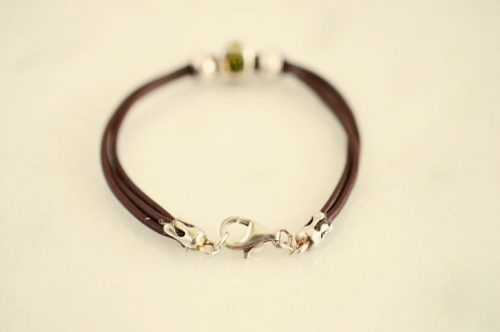women's leather bracelet